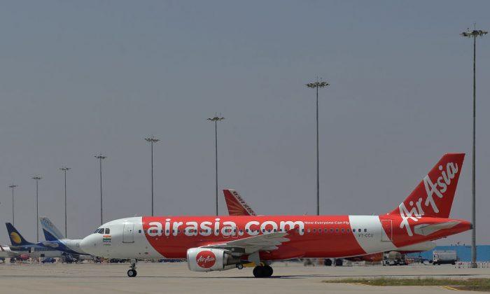 A file photo shows an AirAsia plane. (Manjunath Kiran/AFP/Getty Images)