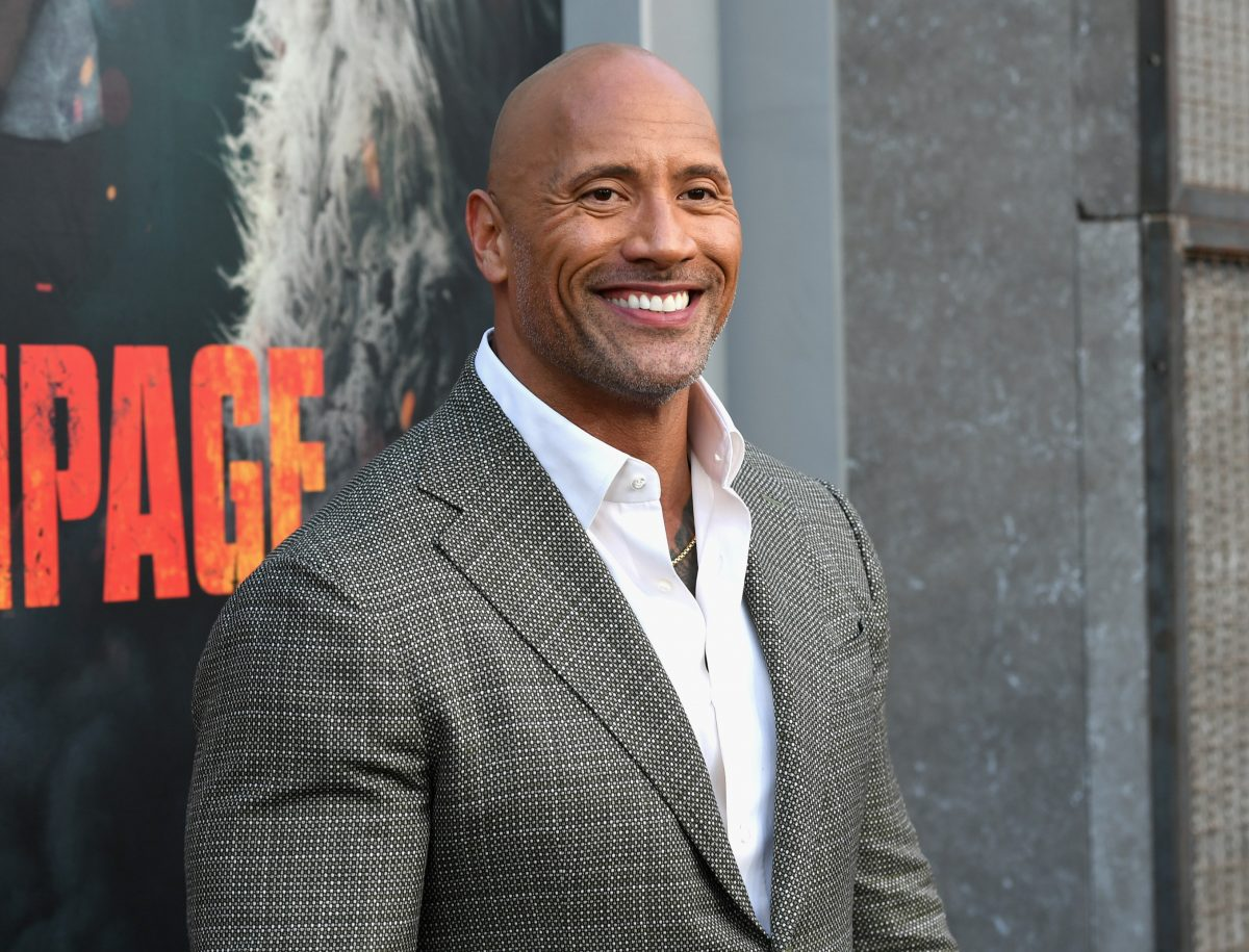 Dwayne Johnson slams CNN reporter