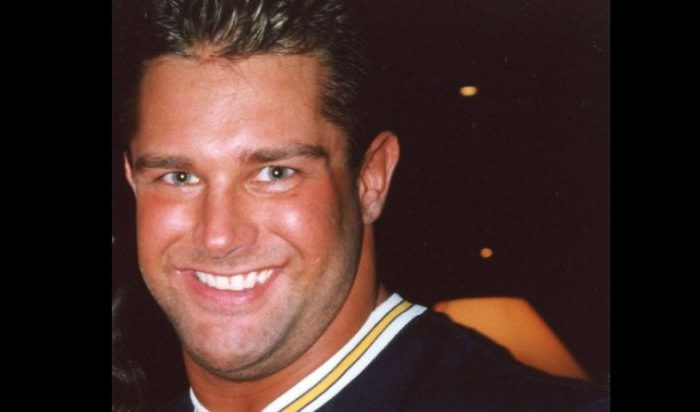 Brian Christopher Lawler posing for a photo in May 2000. (Mandy Coombes via Creative Commons Attribution-Share Alike 2.0 Generic license)