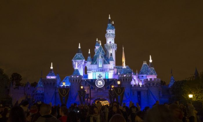 Disneyland's Diamond celebration located at Sleeping Beauty's castle in Anaheim, California in this file photo. (Reuters/Mario Anzuoni)