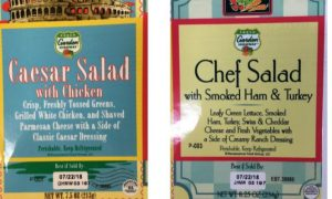 USDA Warns Cyclospora Parasite Could Be in Salads and Wraps