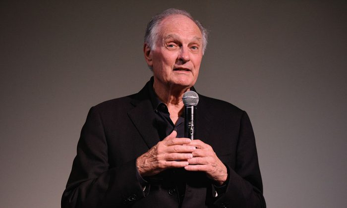 Actor Alan Alda speaks during 'Bridge Of Spies' Q&A in New York on Oct. 12, 2015.(Matthew Eisman/Getty Images)
