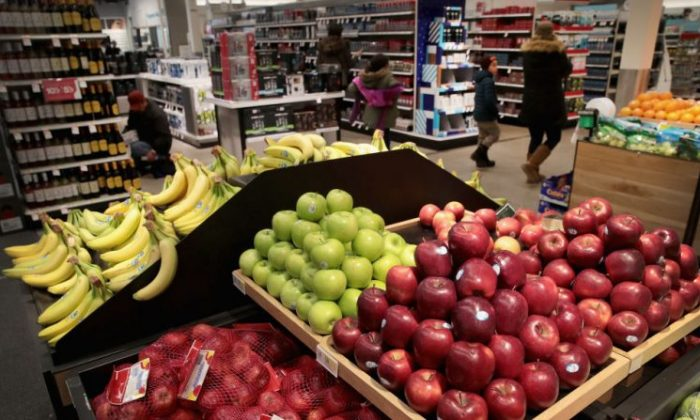Produce in a Target store in a file photo. (Photo by Scott Olson/Getty Images)