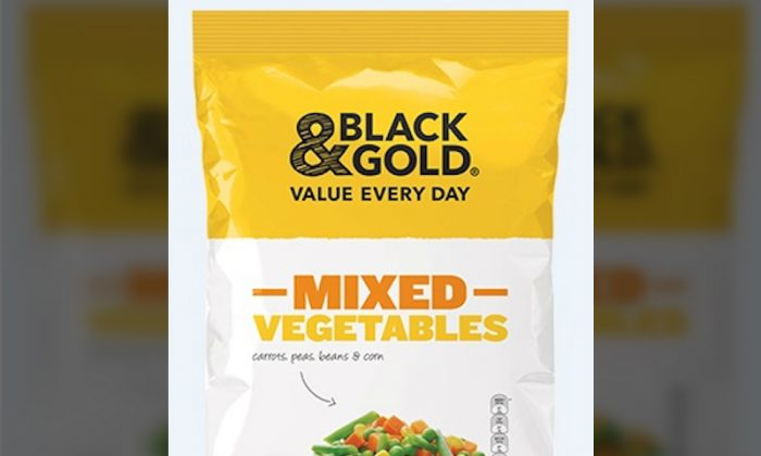 The NSW Food Authority announced a recall of frozen vegetables due to concerns of possible listeria contamination, on Aug. 1, 2018. (NSW Food Authority)