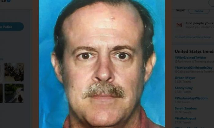Joseph James Pappas was identified as the suspect who shot and killed the personal doctor of former President George H.W. Bush, Houston police said Aug. 1. (Houston Police Department)