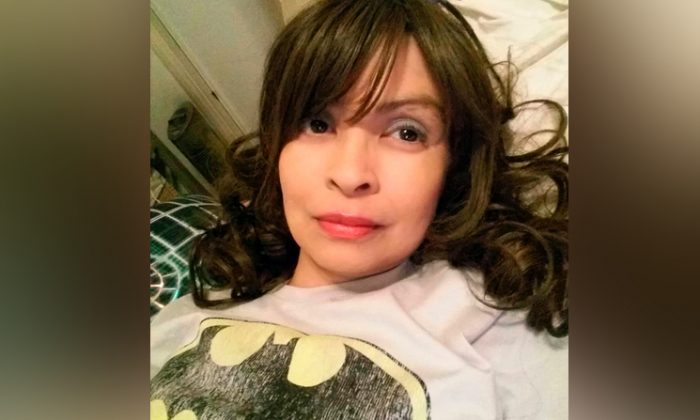 This undated self-portrait posted on Instagram shows actress Vanessa Marquez. (Vanessa Marquez via AP)