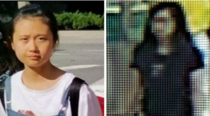 An AMBER Alert was issued for Jinjing Ma, left, who was abducted at Reagan National Airport in Washington D.C. (Missingkids.org)