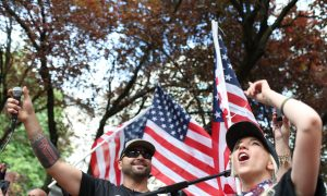 Arrests in Portland as Patriot Prayer Rally and Counter-Protesters Clash