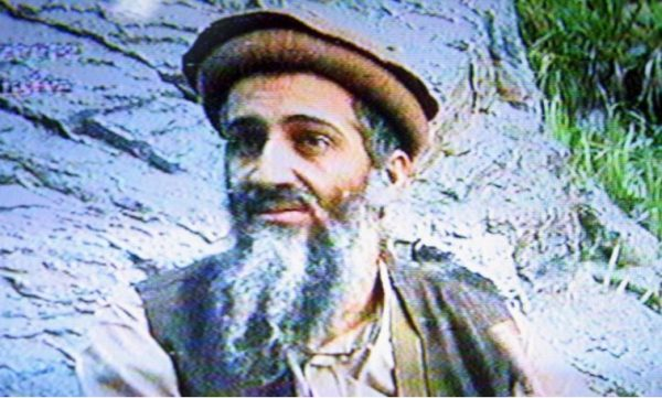 Then al-Qaeda leader Osama bin Laden on Sept. 20, 2003. (Salah Malkawi/Getty Images)