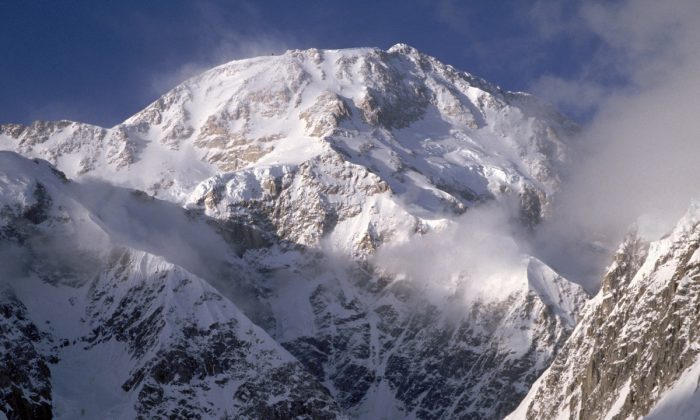 General view of the West face of Mt. McKinley in Denali National Park in Alaska. (Photo by Mike Powell/Getty Images)