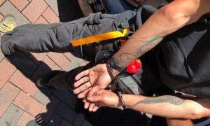 Far-Left Antifa Captured on Video Smashing Windows of US Marine Corps Office in Berkeley