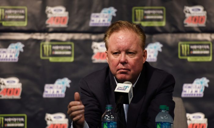 NASCAR CEO and chairman Brian France was arrested for a DUI on Aug. 5. Officials said he was found to be in possession of oxycodone. (Photo by Jared C. Tilton/Getty Images)