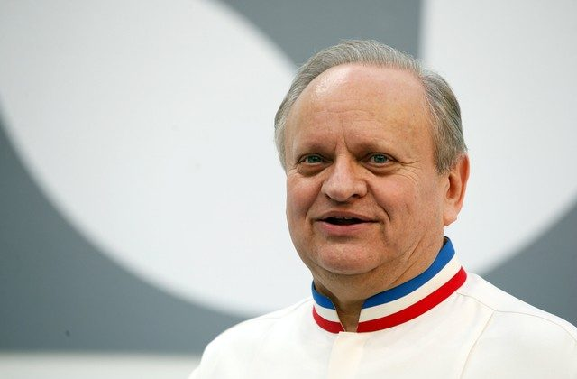 French Chef Joel Robuchon attends the opening of the Taste Festival at the Grand Palais in Paris, France, May 21, 2015. (Reuters/Charles Platiau/File Photo)
