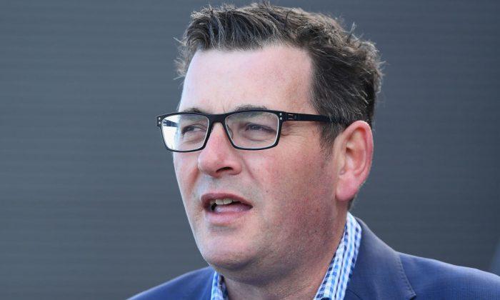 Premier, Daniel Andrews speaks during a media opportunity in Melbourne, Australia, on July 17, 2018. (Quinn Rooney/Getty Images)