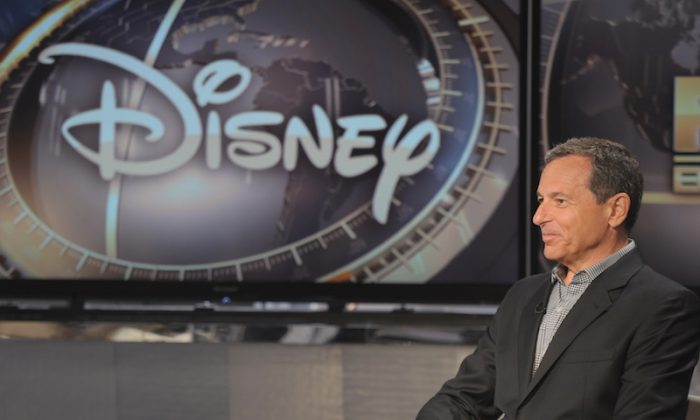 Disney CEO Robert Iger visits FOX Business Network's 'Markets Now' at FOX Studios on Sept. 24, 2013 in New York City. (Photo by Michael Loccisano/Getty Images)