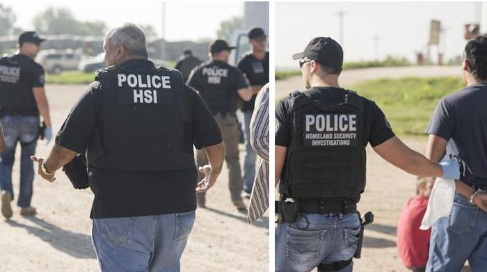 (U.S. Immigration and Customs Enforcement)