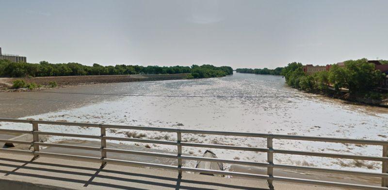 Kansas river woman drove car, killing 2 kids
