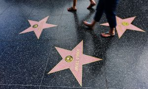 Trump's Walk of Fame Star Multiplies by Dozens After Reports of Vandalism