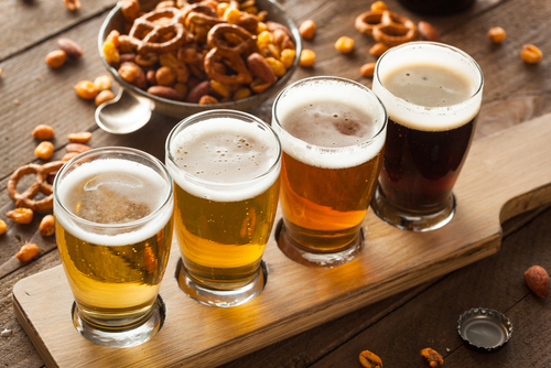 The three best-selling beers in America are light beers: Bud Light, Coors Light, and Miller Lite. (Shutterstock)