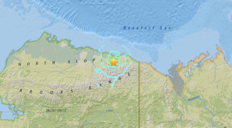alaska today earthquake