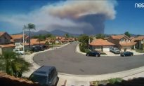 Timelapse Video Shows Giant Smoke Formation From Holy Fire