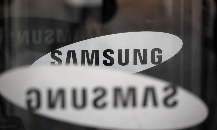 The Samsung logo is seen in Seoul, South Korea, March 23, 2018. (Reuters/Kim Hong-Ji)