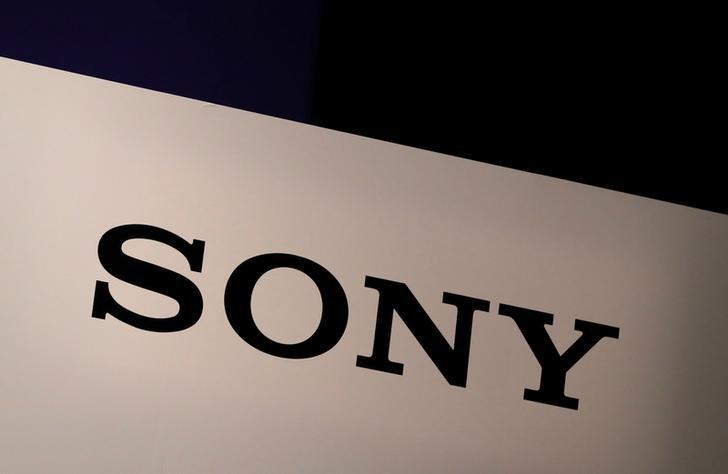 Sony Corp's logo.