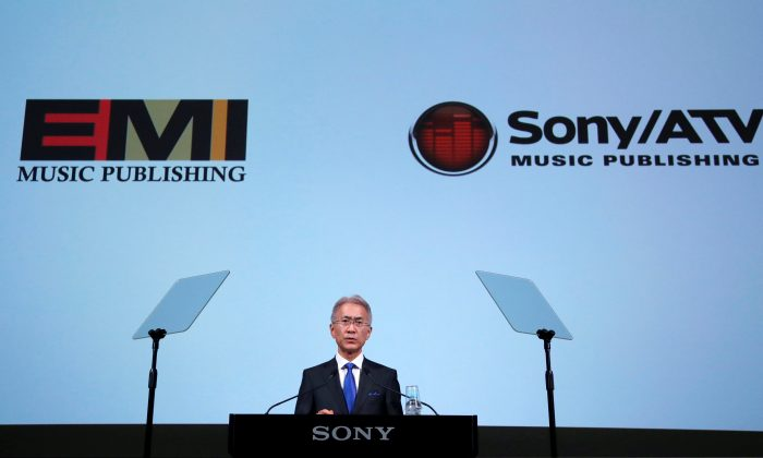 Sony Corp's new President and Chief Executive Officer Kenichiro Yoshida attends a news conference on their business plan in Tokyo, Japan on May 22, 2018. (Reuters/Toru Hanai)