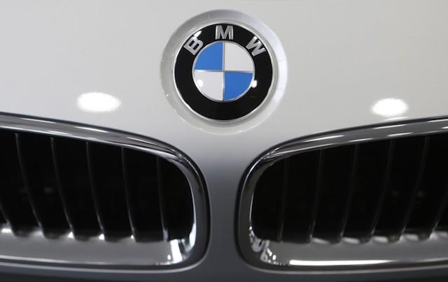 A BMW sedan is displayed for sale at a BMW dealership in Goyang, north of Seoul June 12, 2013. (REUTERS/Lee Jae-Won)