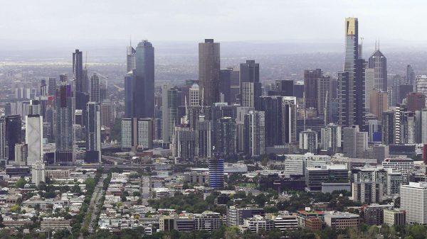 A scenic view of Melbourne, Australia