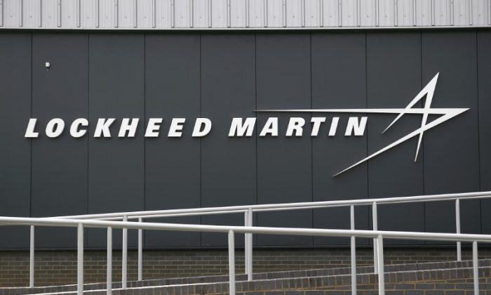 A sign at the new Lockheed Martin Manufacturing Centre of Excellence is seen at the company's headquarters in Ampthill near Bedford, Britain June 9, 2016.  (Reuters/Peter Nicholls/File Photo)