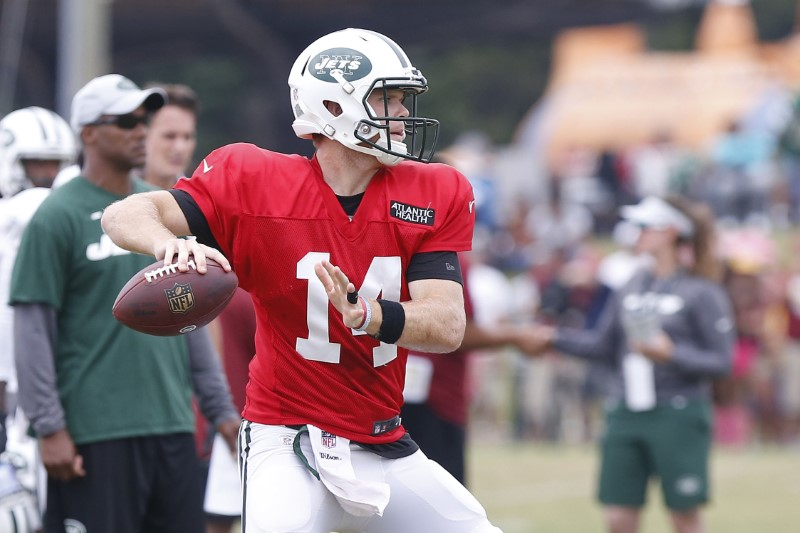 New York Jets quarterback Sam Darnold.