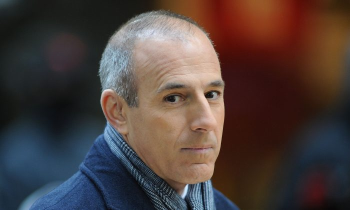 Matt Lauer attends NBC's 'Today' at Rockefeller Plaza in New York City on Nov. 20, 2012. (Slaven Vlasic/Getty Images)