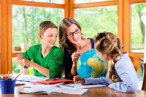 Homeschooling is a process; many families adjust as they go. (Shutterstock)