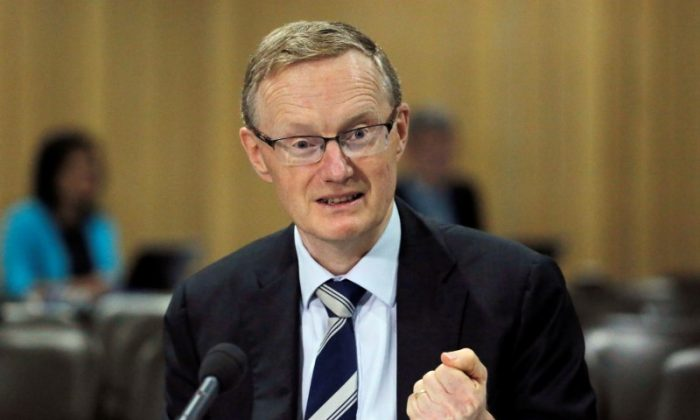 Australia's new Reserve Bank of Australia Governor Philip Lowe speaks at a parliamentary economics committee meeting in Sydney, Australia, on Sept. 22, 2016. (Reuters/Jason Reed/File Photo)