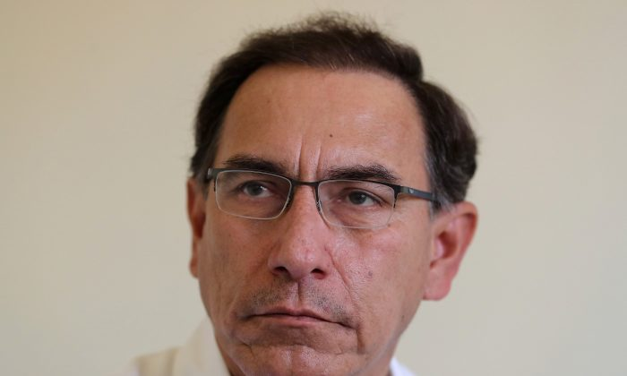 File photo: Peru's President Martin Vizcarra speaks during an interview with Reuters in Pucallpa, Peru August 9, 2018. (Reuters/Guadalupe Pardo)