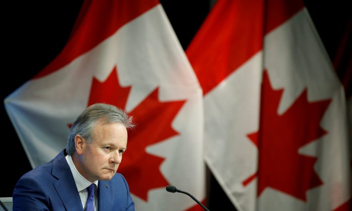 Bank of Canada Governor Stephen Poloz listens to a question during a news conference in Ottawa, Ontario, Canada, July 11, 2018. (Reuters/Chris Wattie)