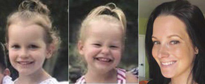 Bella Watts, Celeste Watts, and Shanann Watts. (The Colorado Bureau of Investigation via AP)