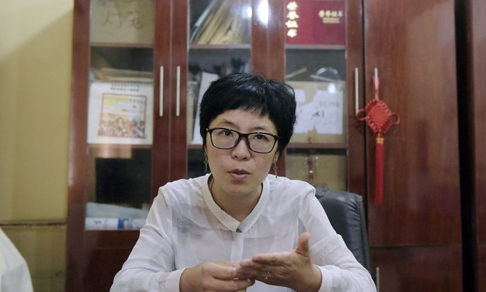 Yongjin Wang, director of the Confucius Institute in the University of Lagos. April 6, 2016. (PIUS UTOMI EKPEI/AFP/Getty Images)