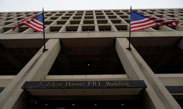 The J. Edgar Hoover Federal Bureau of Investigation (FBI) Building in Washington, D.C. on February 1, 2018 (Jim Bourg/Reuters)