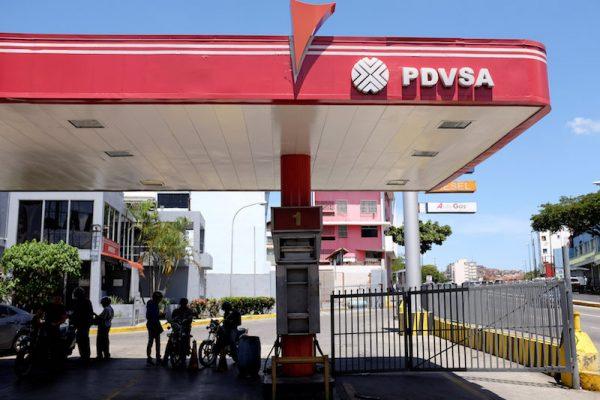 Gas station venezuela