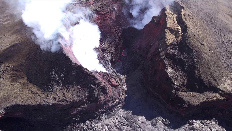 Kilauea calm