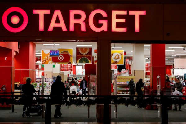 A Target store is seen in the Brooklyn borough of New York.