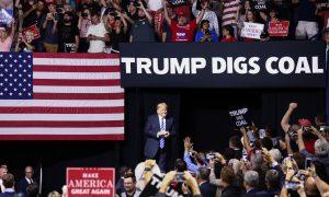 Trump, Coal Miners Celebrate Resurgence in West Virginia