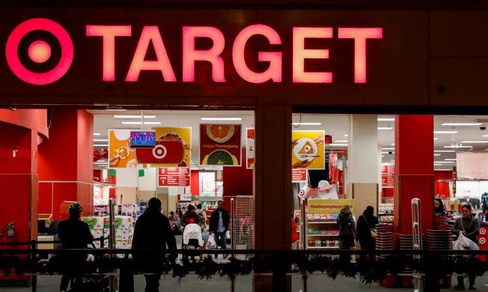 FILE PHOTO: A Target store is seen in the Brooklyn borough of New York, U.S., November 14, 2017.   REUTERS/Brendan McDermid/File Photo