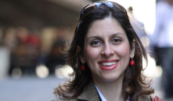 Iranian-British aid worker Nazanin Zaghari-Ratcliffe is seen in an undated photograph handed out by her family.