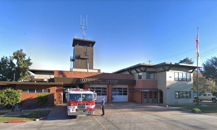 Menlo Park Fire Protection District, Middlefield Road, Menlo Park, CA.(Map data @2018 Google).
