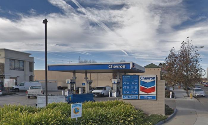 Chevron gas station in San Jose. (Map data @2018 Google).