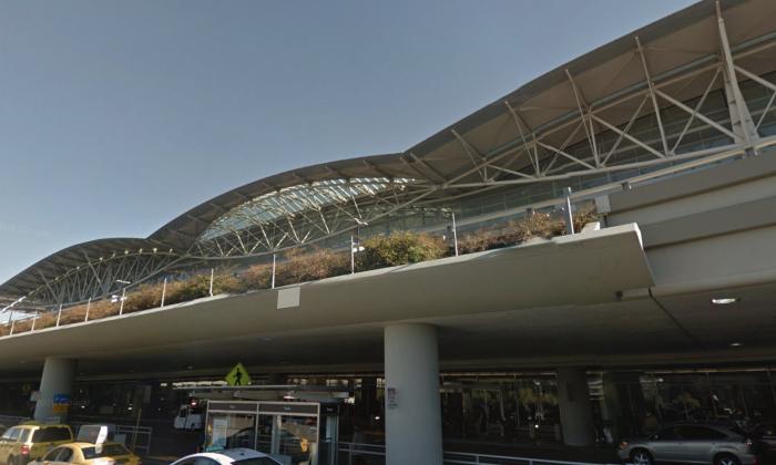 San Francisco International Airport. (Map data @2018 Google).