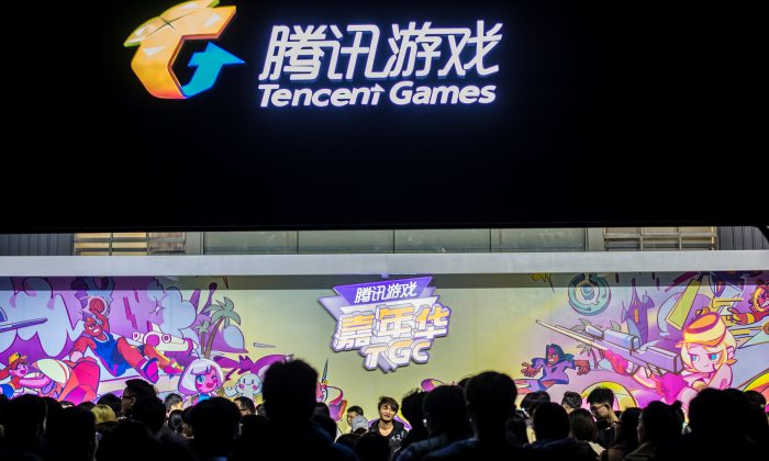 Visitors attend the annual Tencent Games Carnival (TGC) in Chengdu, Sichuan province, China on Dec. 2, 2017.  (Reuters/Stringer)